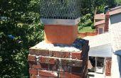 Registre du conduit cheminée - installation cheminée Flue Damper étape par étape