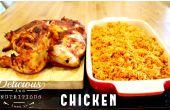 MIJOTÉS de poulet et riz JOLLOF