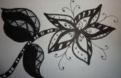 Tutoriel de Doodle de fleurs