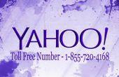 1-855-720-4168 Yahoo Mail Service à la clientèle comprend nombre