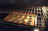 Cookies de protéines libres sans gluten