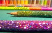 Ombre bricolage Glitter crayons