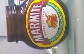 Upcycled Marmite pot Tea Light