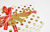 Tags cadeau argile Monogram