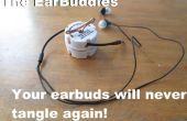 Le EarBuddies : magasin écouteurs sans emmêler (avec des trucs, que vous avez déjà!)