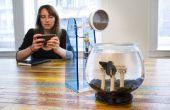 LittleBits distance Pet Feeder