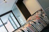 IKEA Hack - lit escamotable avec portes coulissantes