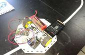 Ligne de Robot suiveur à l'aide de caméra bouclier en 1Sheeld & Arduino