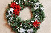 BRICOLAGE Couronne de Noël