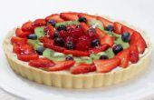 Comment faire une tarte aux fruits - recette facile
