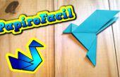 Comment faire un origami facile Colombe de la paix