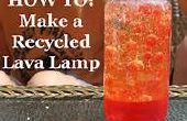 Comment faire A recyclé lampe à lave !