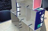 Boîte à chaussures étagère (carton)