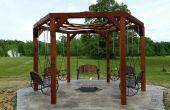 Hexagone Swing avec foyer coulés