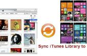 Film d'iTunes Sync pour Windows Phone 8