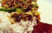 Plat de Curry en bonne santé de la mère, 18 Min