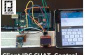 ESP8266 + Arduino + Oled (contrôle Client de Chat IRC) partie 1