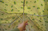 Comment transformer un parapluie cassé en un sac éco-reusuable