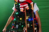 CHANDAIL laid Noël bricolage 2013 (basculement de l'échelle)