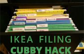 IKEA Expedit meuble classeur Hack