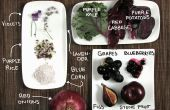 Aliments violets ! Colorful cuisine sans colorants artificiels.