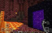 Comment faire le portail nether dans minecraft pe