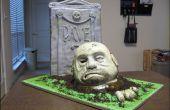 Comment faire un sculpté gâteau zombie.