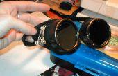Modifiant les lunettes de soudeur dans une machine à vapeur d'inspiration look