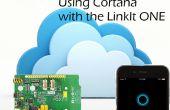 Cortana permettent de contrôler votre LinkIt un !
