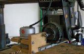 Routeur de broche pour une scie à bras Radial Sears