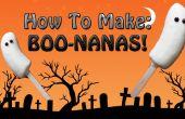 Spooky BOO-nanas ! (Super facile, sans cuisson)