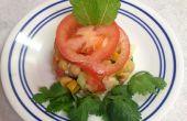 Tarte aux légumes frais