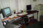 Comment faire un bureau qui s'adapte aux deux ordinateurs pour 45 $