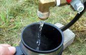 Camp de chauffage à eau chaude avec une fonction de distribution facile à utiliser