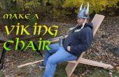 Faire une chaise de Viking avec des outils manuels !