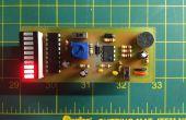 Mini décibels - un compteur de volume simple avec un micro électret & LM3916