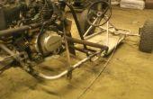 Rail de 150cc zongshen inverse trike/sable