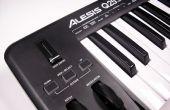 Synthétiseur de musique analogique sous contrôle MIDI