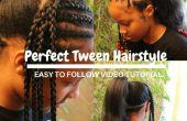 Comment faire la coiffure parfaite pour les filles de Tween