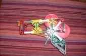 Knex rubberband répéteur qui utilise gears
