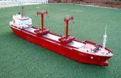 Papier mâché maquettes de bateaux