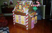 Construire une maison de pain de gingembre