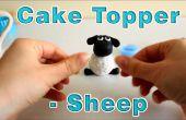 Comment faire un sucre pâte glaçage Fondant moutons Cake Topper