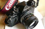 Remplacer les joints de lumière de votre bonne vieille caméra film
