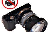 À l'aide de lentilles sur caméras numériques de Kiev-10/Kiev-15