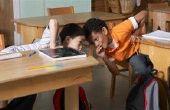 Les interruptions dans une classe. (Écoles publiques)