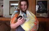 Aucun bricolage cousez Sling Cat