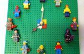 LEGO figurine affichage horloge