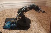PS3 contrôlée bras robotique