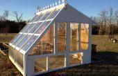 Jardin à effet de serre de windows régénérés